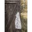 Fotografia, na której jest Ręcznik kuchenny GRAN szary - Fine Little Day
