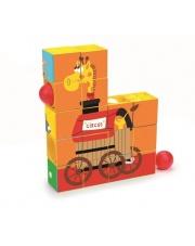 Puzzle rollercoaster Cyrk - Scratch