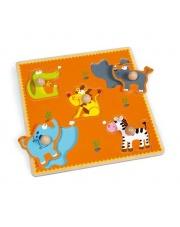 Puzzle z uchwytem Safari - Scratch