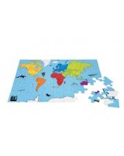 Puzzle Mapa Świata - Buiten Speel