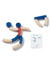 Układanka logiczna drewniana z kartami sport - Buiten Speel
