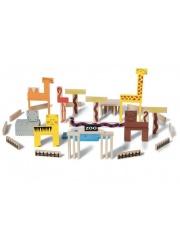 Klocki drewniane ZOO - Buiten Speel