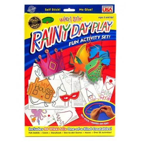 Fotografia, na której jest RAINY DAY PLAY - Wikki Stix