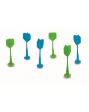 Lotki do Rzutek Magnetycznych - Niebiesko - Zielone - Scratch