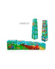 Piramida edukacyjna Jumbo Farma  - Scratch