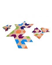 Domino drewniane  Trójkąty  - Buiten Speel