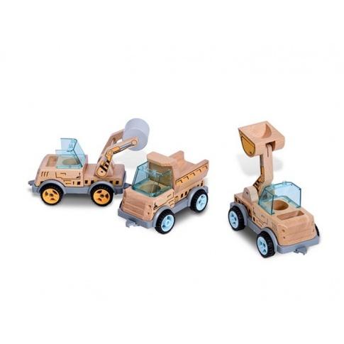 Fotografia, na której jest Pojazd konstrukcyjny - WALEC - Buiten Speel