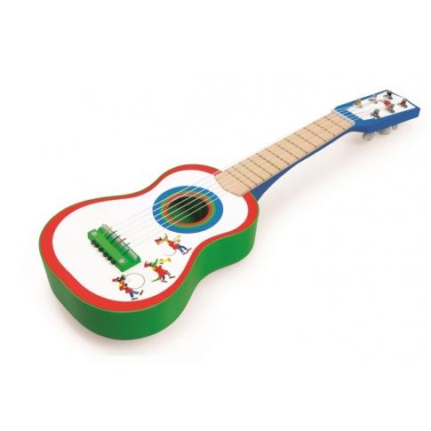 Fotografia, na której jest Gitara Fanfare - Scratch