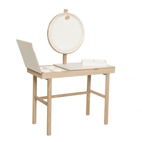 Fotografia, na której jest Skandynawska toaletka z lustrem BeautyFeel