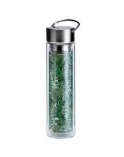 Butelka szklana na herbatę z pokrowcem - 350 ml - Dżungla Eigenart
