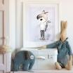 Fotografia, na której jest Plakat Little Friends - To The Moon - LITTLE JONAS