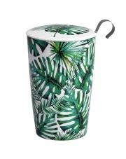 Kubek do herbaty z zaparzaczką - 350 ml - Dżungla Eigenart