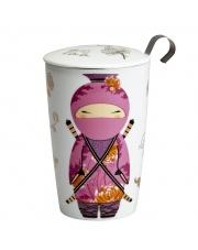 Kubek do herbaty z zaparzaczką - 350 ml - Ninja Eigenart