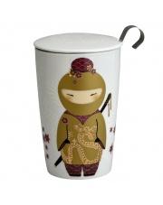 Kubek do herbaty z zaparzaczką - 350 ml - Ninja złoty Eigenart