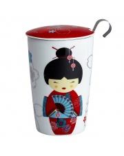 Kubek do herbaty z zaparzaczką - 350 ml - Gejsza Eigenart