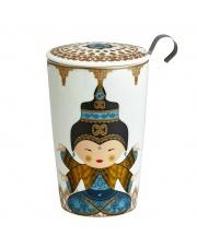 Kubek do herbaty z zaparzaczką - 350 ml - Shiva Eigenart