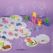 Fotografia, na której jest Puzzle Uczę się alfabetu wersja angielska, Janod