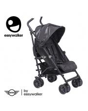 MINI by Easywalker Buggy+ Wózek spacerowy z osłonką przeciwdeszczową LXRY Black kolekcja 2018