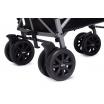 Fotografia, na której jest MINI by Easywalker Buggy+ Wózek spacerowy z osłonką przeciwdeszczową LXRY Black kolekcja 2018