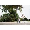 Fotografia, na której jest Easywalker Buggy+ Wózek spacerowy z osłonką przeciwdeszczową Monaco Apero kolekcja 2018