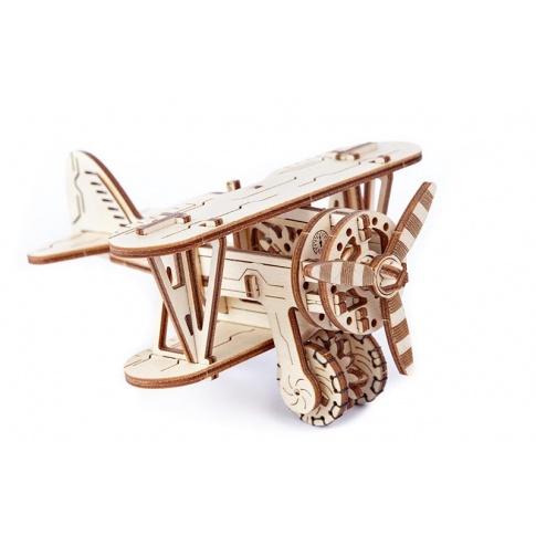 Fotografia, na której jest Samolot - Puzzle 3D Wooden.City