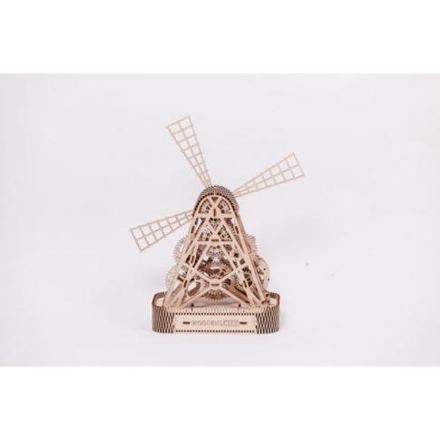 Fotografia, na której jest Wiatrak - Puzzle 3D Wooden.City