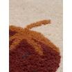 Fotografia, na której jest Dywan wełniany FRUITICANA truskawka - ferm LIVING