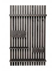 Drewniany organizer na ścianę / półka - ferm LIVING
