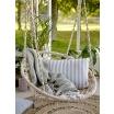 Fotografia, na której jest Huśtawka pleciona - fotel wiszący - Bloomingville