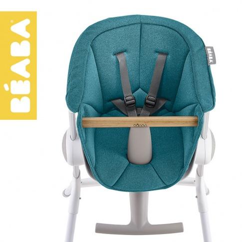 Fotografia, na której jest Beaba Miękki wkład do Krzesełka do karmienia Up&Down blue