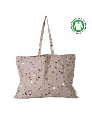 Torba z bawełny organicznej / Tote Bag TERRAZZO XL - ferm LIVING