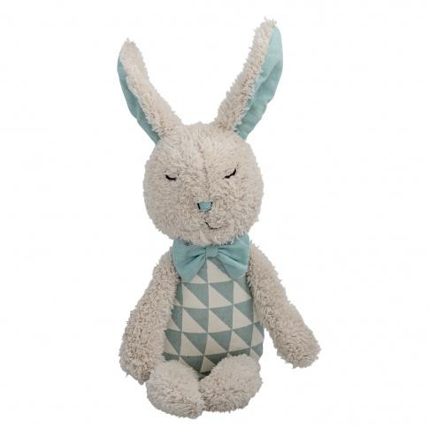 Fotografia, na której jest Pluszowy królik - Bloomingville