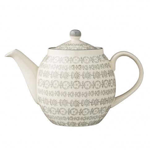 Fotografia, na której jest Dzbanek do herbaty Karine - Bloomingville