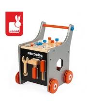 Wózek warsztat magnetyczny z narzędziami  Brico 'Kids kolekcja 2018, Janod