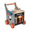 Fotografia, na której jest Wózek warsztat magnetyczny z narzędziami  Brico 'Kids kolekcja 2018, Janod