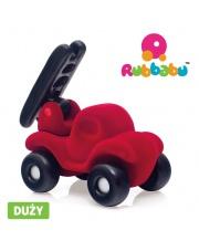 Rubbabu Wóz strażacki sensoryczny czerwony duży