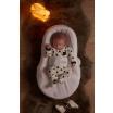Fotografia, na której jest Ergonomiczny materac dla niemowląt Cocoonababy, Red Castle