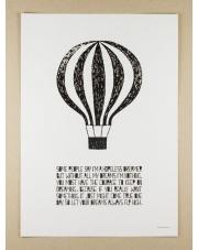 Plakat A3 Life Poster Balloon