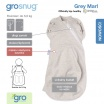 Fotografia, na której jest Otulacz-śpiworek Grosnug Grey Marl, Gro Company