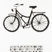 Fotografia, na której jest Plakat A3 Life Poster Bike