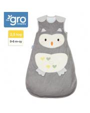 Śpiworek Grobag Ollie The Owl - grubość 2,5 tog, Gro Company