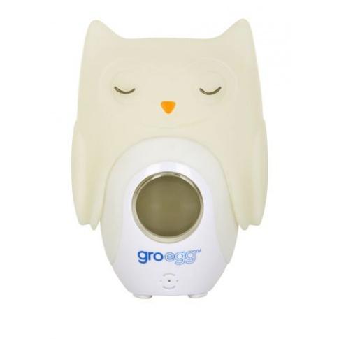 Fotografia, na której jest Nakładka na termometr Gro-Egg Sowa, Gro Company