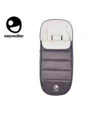 Easywalker Mosey+  Śpiworek do wózka na zimę uniwersalny Pebble Grey