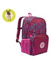 Lassig Plecak szkolny z termoizolacyjną kieszenią Blossy pink