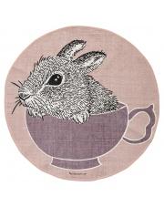 Dywan króliczek w filiżance - Bloomingville