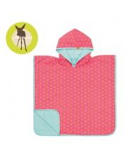 Lassig Ręcznik Poncho Peach Stars 120x60 cm UV 50+