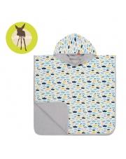 Lassig Ręcznik Poncho Paper Boat 120x60 cm UV 50+