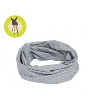 Lassig Opaska wielofunkcyjna Twister Coolmax® Polka Dots grey UV 40+