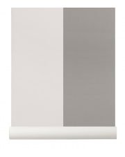 Tapeta skandynawska THICK LINES Grey/Off White - ferm LIVING