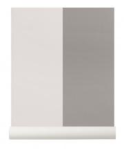 Tapeta skandynawska THICK LINES Grey/Off White - ferm LIVING